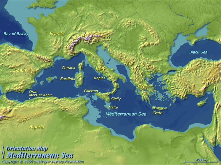 Pożytek z Morza Śródziemnego